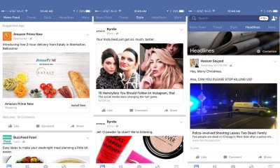 facebook-testing-multiple-newsfeed-and-extended-shopping-experience