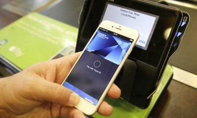 Apple Inc. announced on Friday that it will launch the smartphone-based Apple Pay electronic payment system in China early next year.