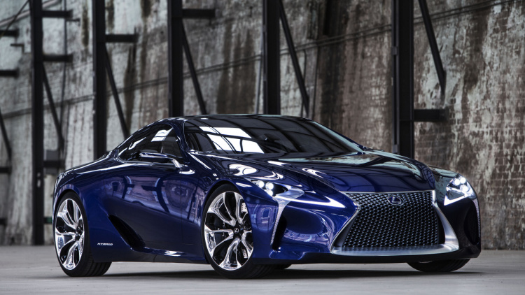 2017 Lc 500 The Future Of Lexus