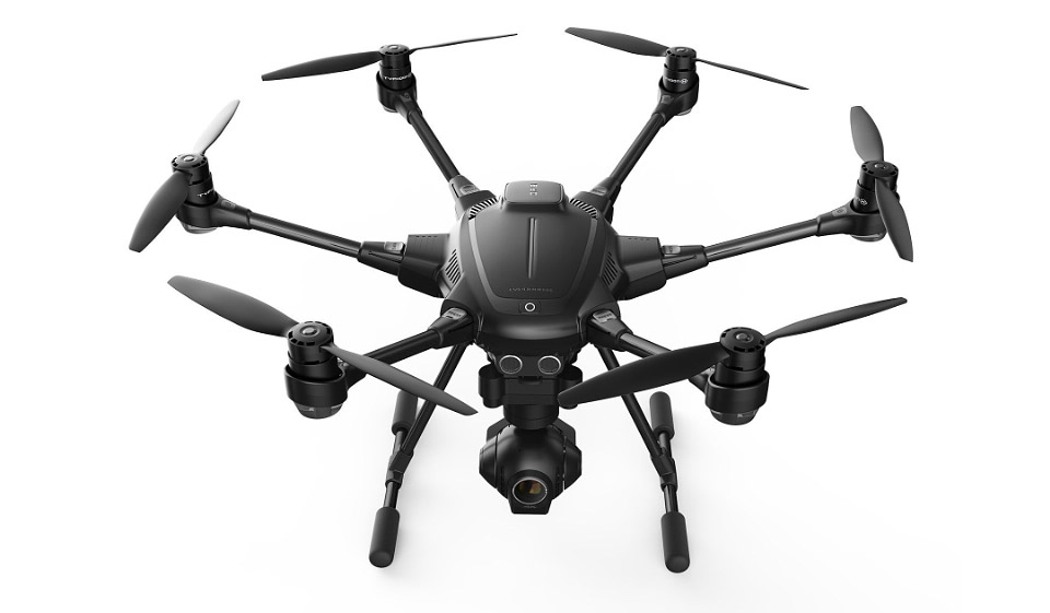 Yuneec Unveils Typhoon H: Drone That Avoids Collisions