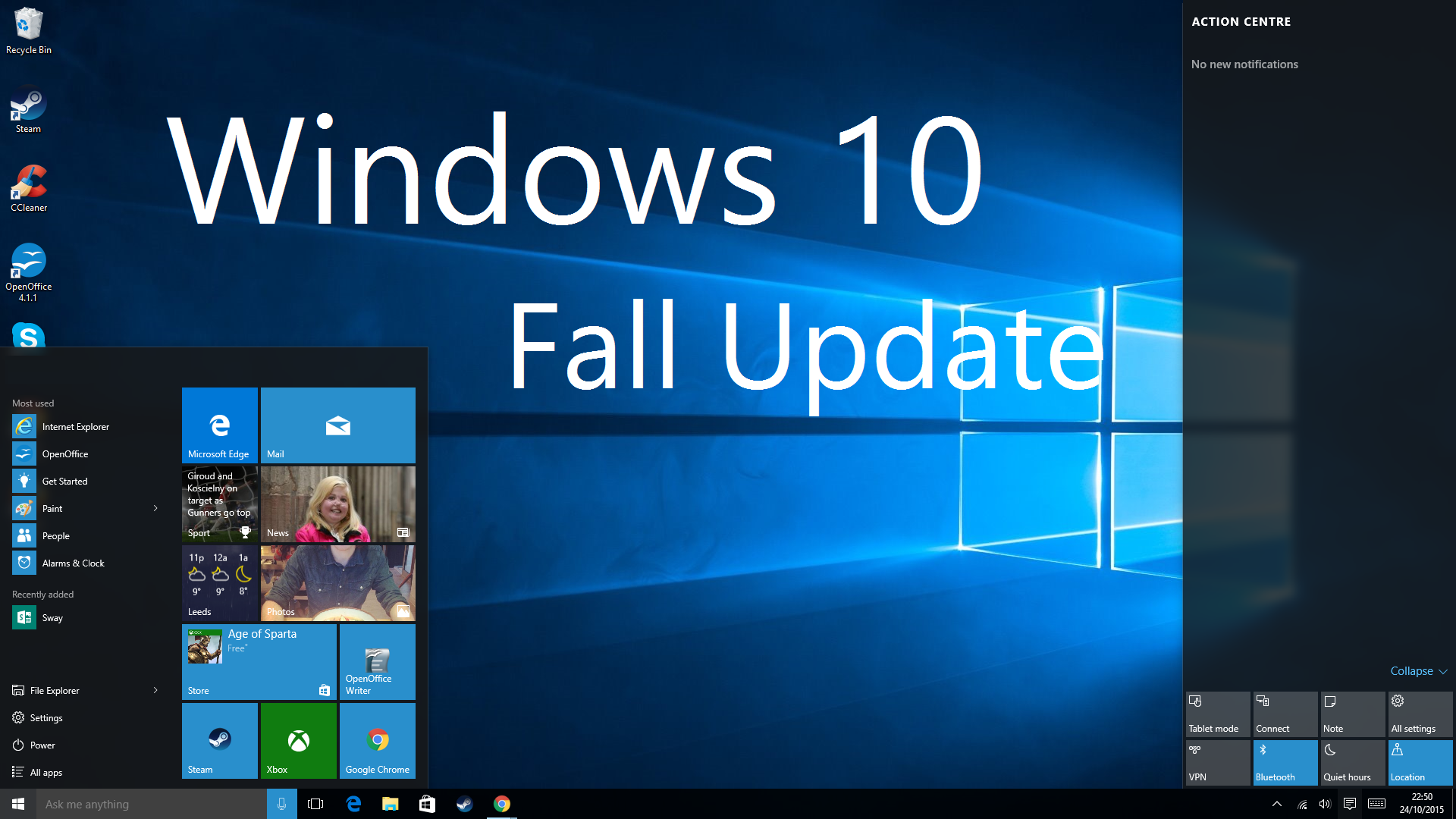 New windows 10 update can fix malware with a change log for Latest windows version
