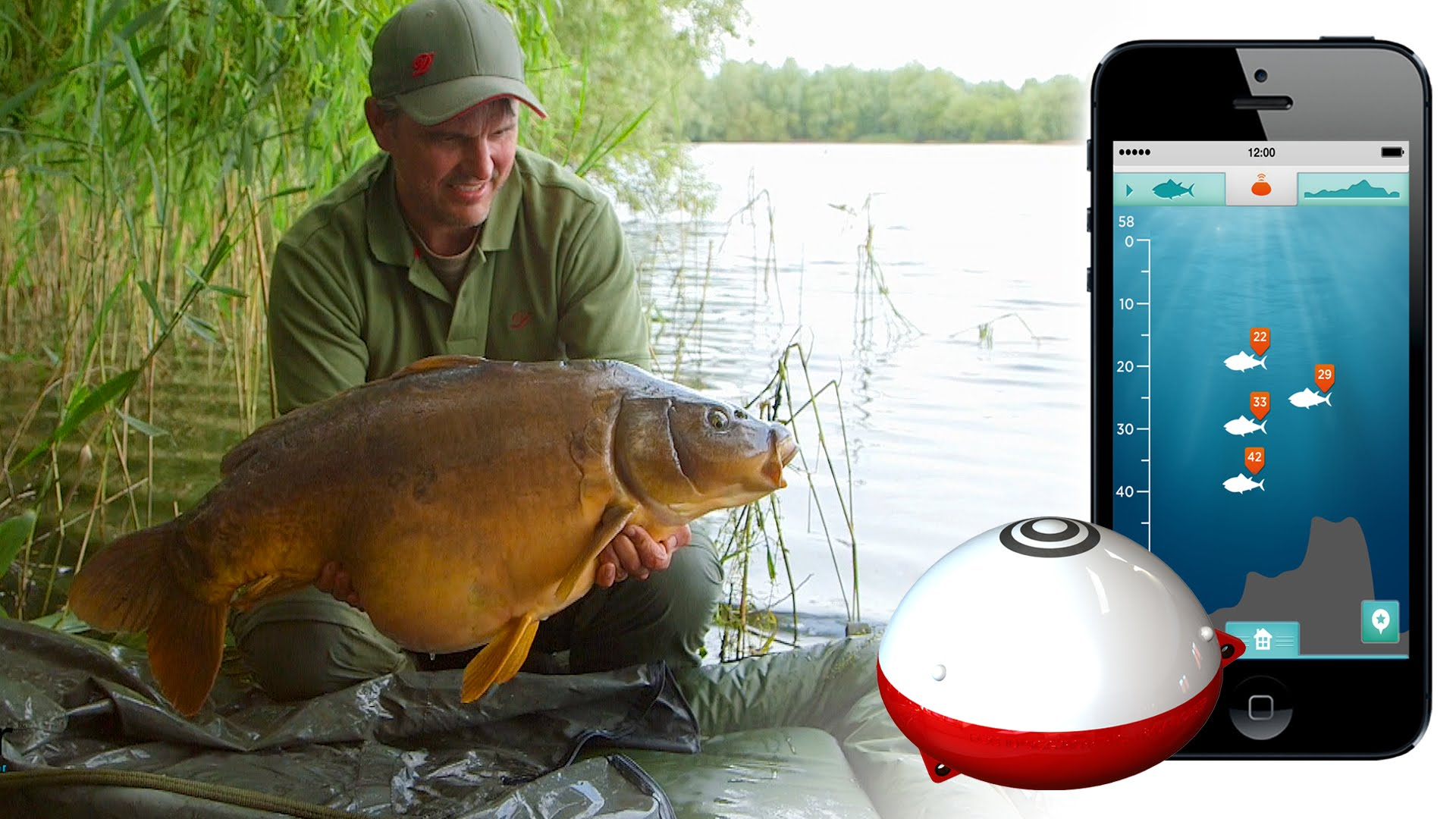 Smart gadget ibobber will help you catch the fish you are for Are fish smart