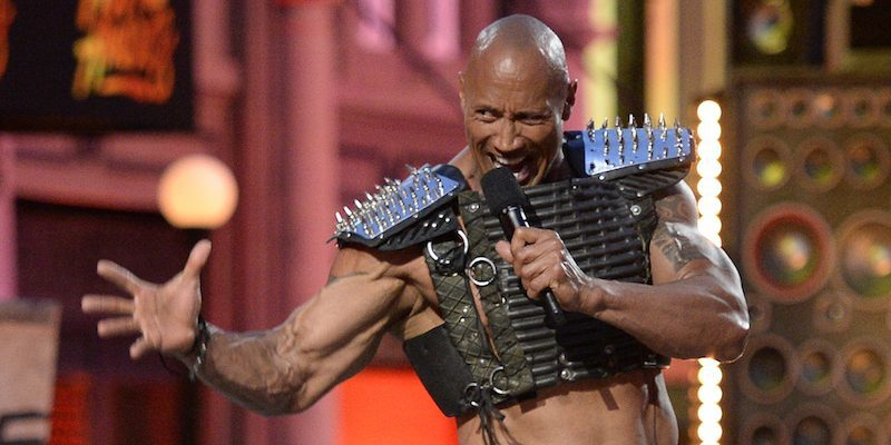 The Rock wants you to wake up and smell what he's cookin'