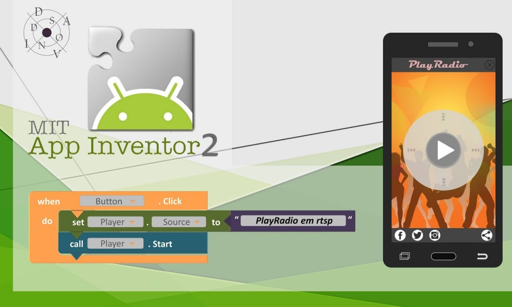 Designing apps without coding using the MIT App Inventor