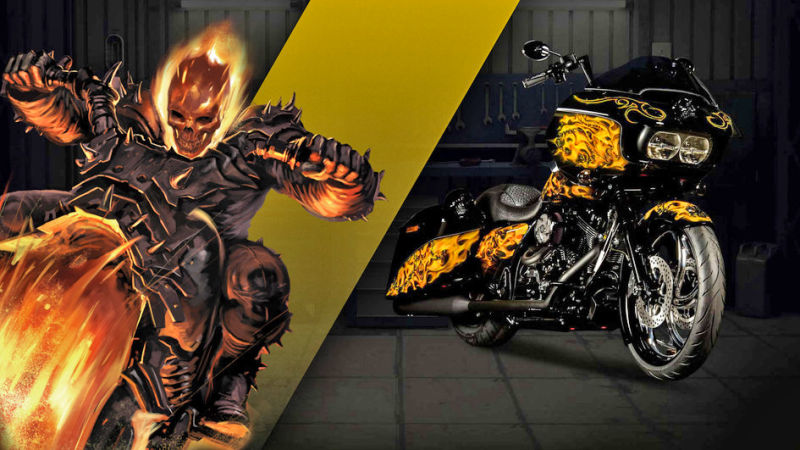 Marvel teams up with Harley-Davidson on incredible new ...
