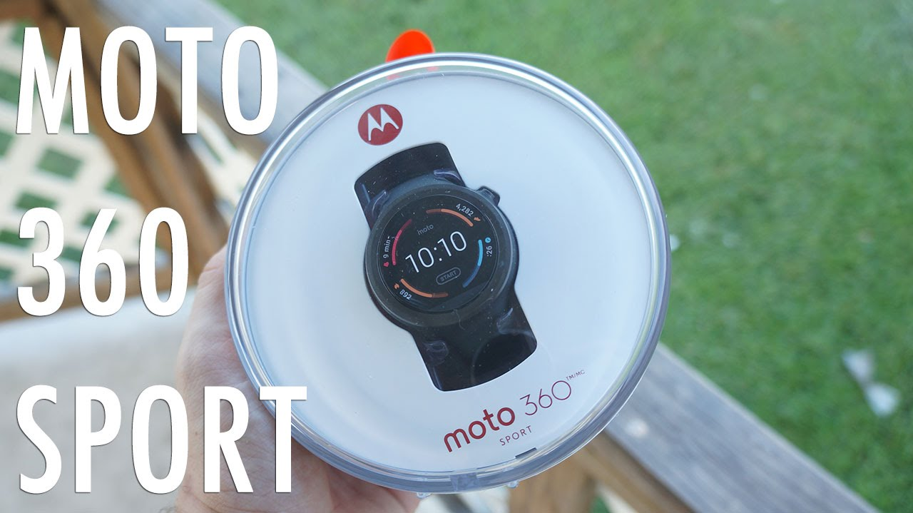 Motorola is offering a £90 discount on its Moto 360 Sport ...