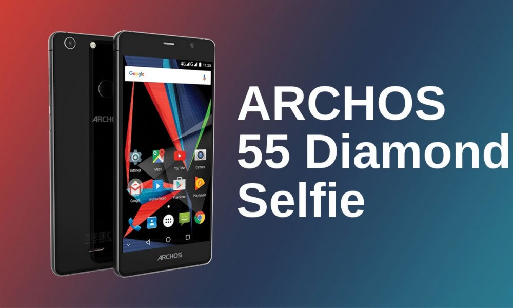 Archos launches 55 Diamond Selfie smartphone