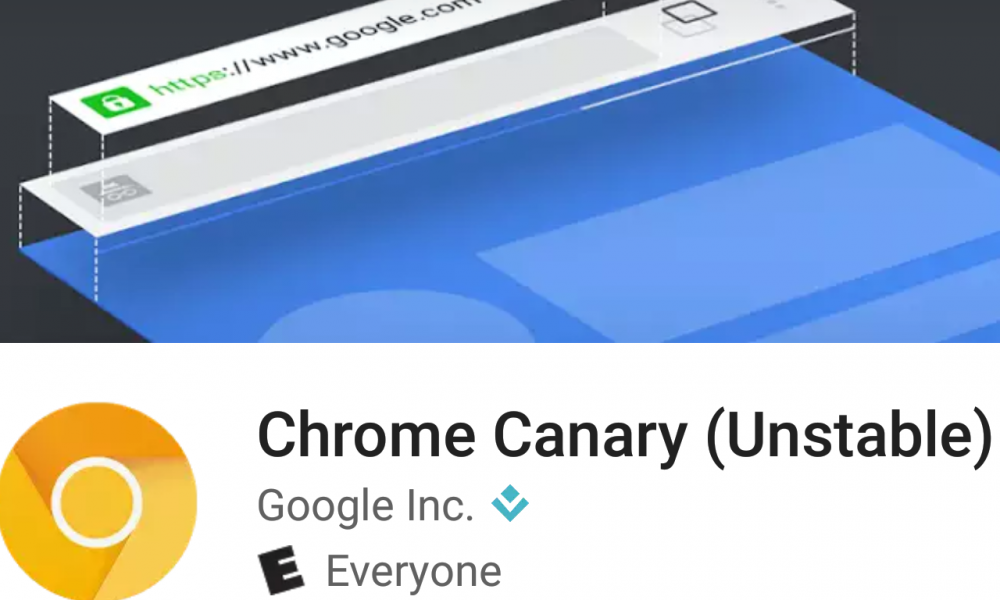 Google makes experimental Chrome Canary Builds available on