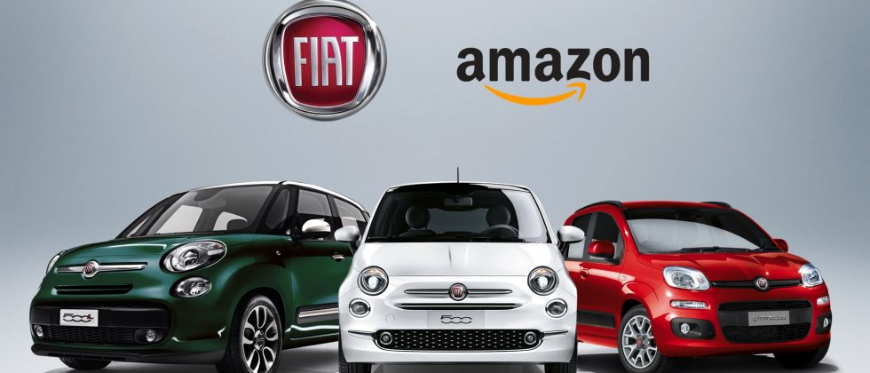 fiat cars can be bought online via amazon