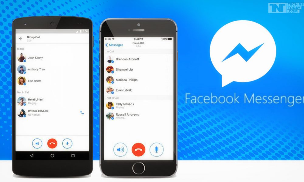 can you do a group call on facebook