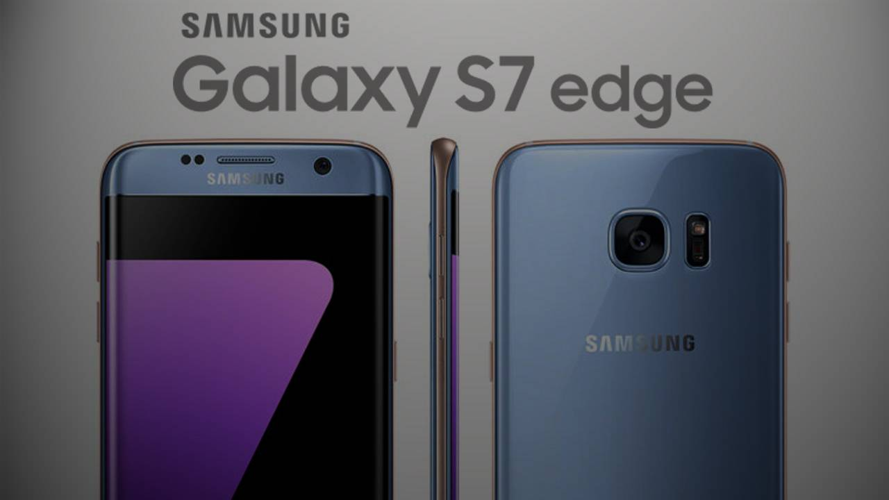 Blue Coral Samsung Galaxy S7 Edge Will Soon Arrive In Europe 32 Gb Smartphone Thetechnews