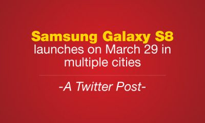 samsung galaxy s8 launches