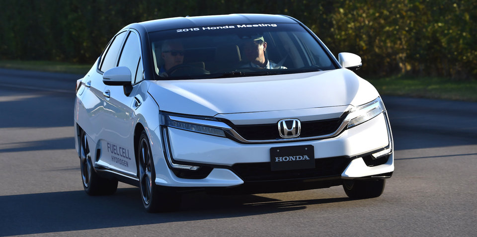 Honda and GM have teamed up to produce fuel cell cars by