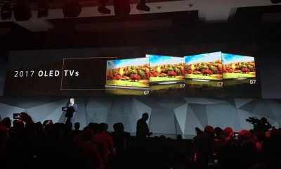 pre order for LG's oled TV