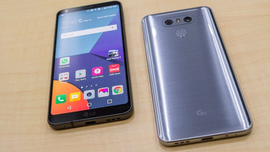 lg g6 smartphone in the us