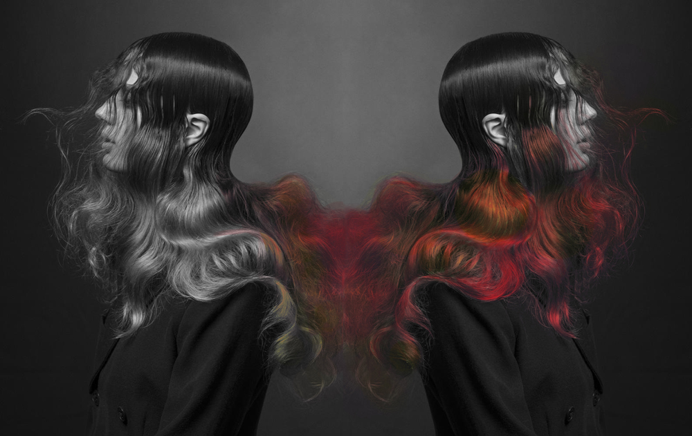 color-changing hair dye