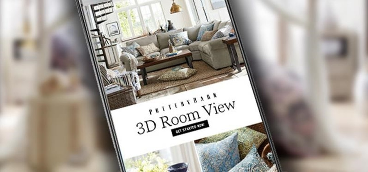 Pottery Barn 39 S Ar App Lets You Design Your Dream Room