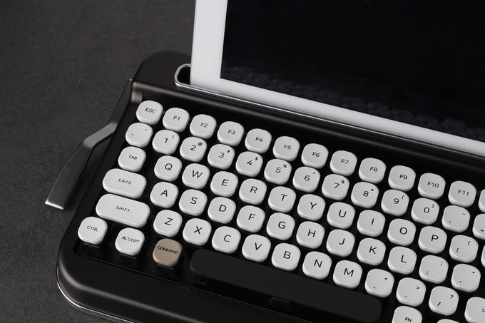 This Bluetooth keyboard will give you the feel of a classic