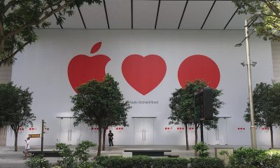 First Apple store in southeast asia