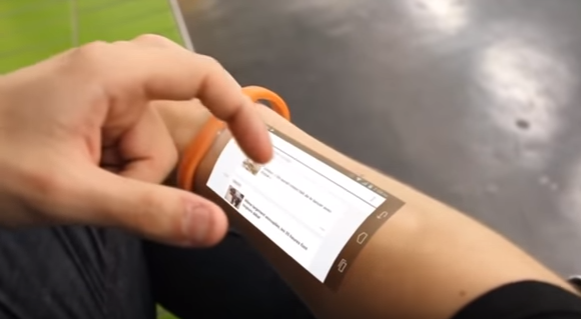 Cicret Bracelet Like A Tablet But On Your Skin Thetechnews