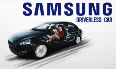samsung self-driving cars