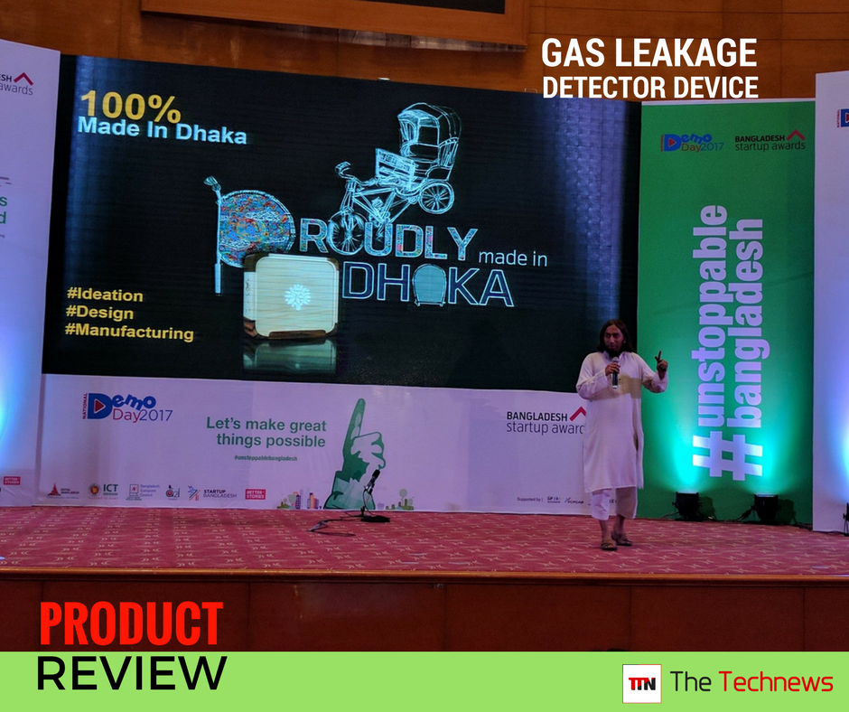 Gas leakage detector device from Bangladesh