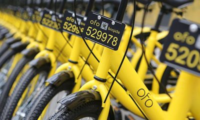 Ofo wants to raise $500 million
