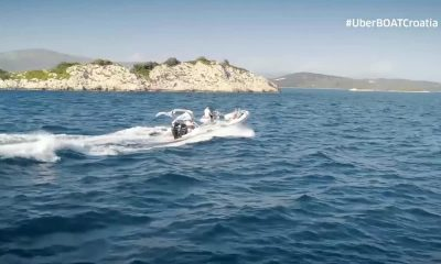 UberBoat service is in Croatia.