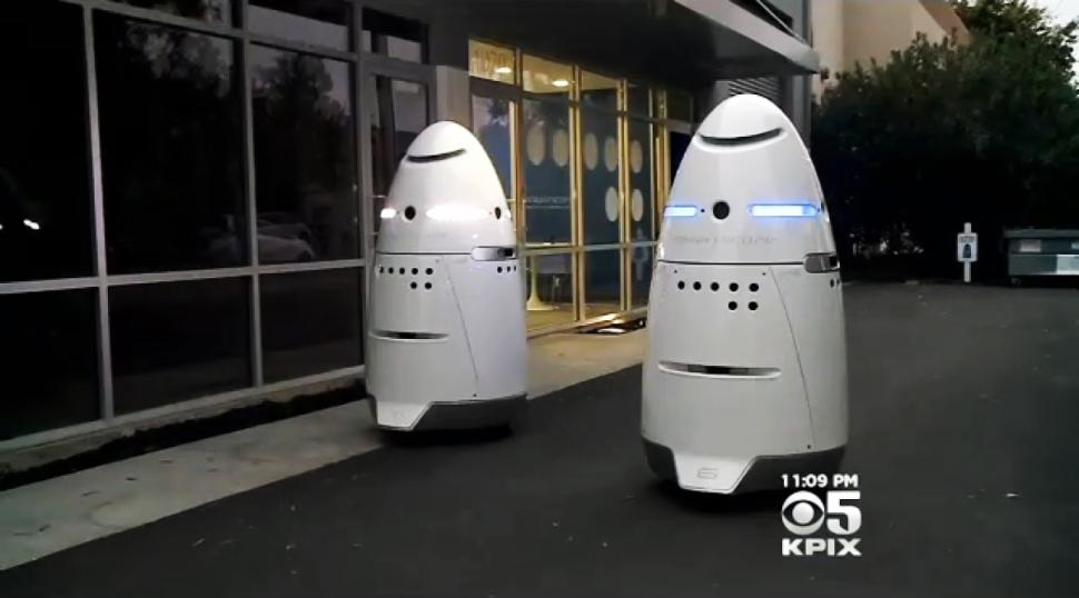 RIP this security robot, which apparently hated its job