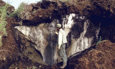 Melting Permafrost - A sign of global warming and climate change?