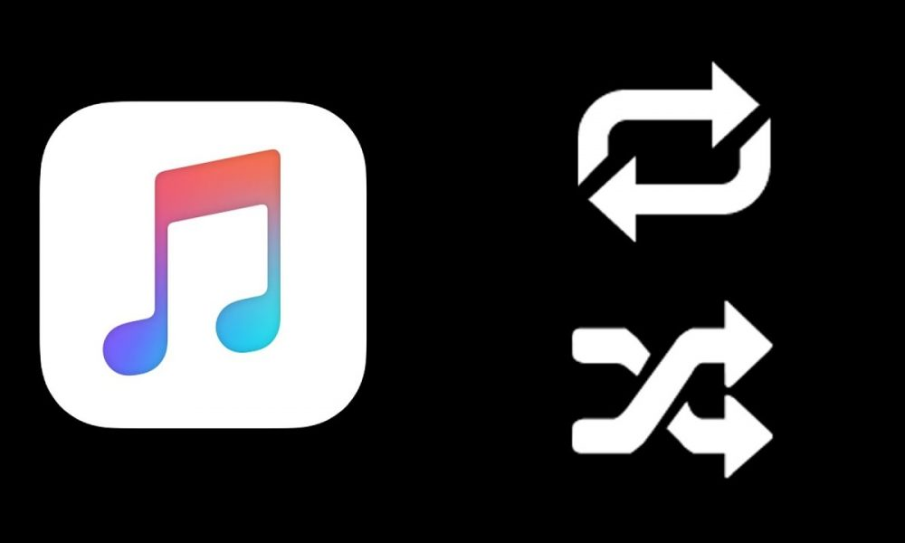 how to turn off shuffle on apple music