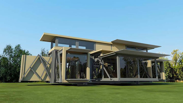 This Self Transforming Home Lets You Build Your Dream House Anywhere You  Want