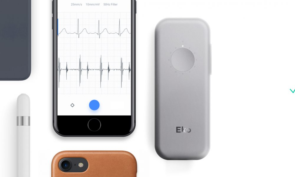 DUO of ECG and heart monitor app in your grip