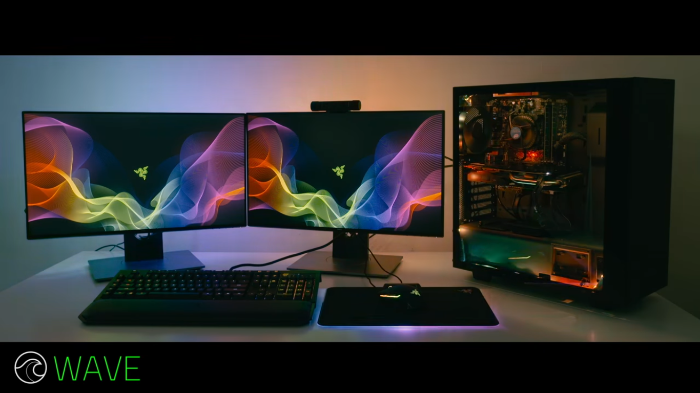 Razer chroma led light strips will give a sync lighting effect on the razer chroma led synchronized lights will add an extra effect for a dark room where any masterpiece gaming graphics are created or a video that an aloadofball