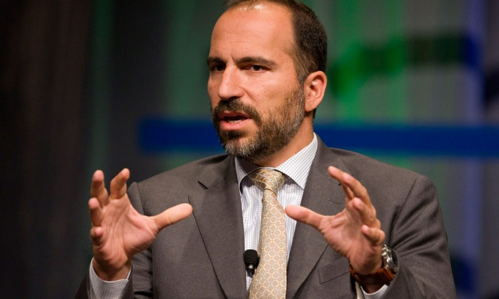 Driverless Uber gets driver at last, Expedia's boss Dara Khosrowshahi