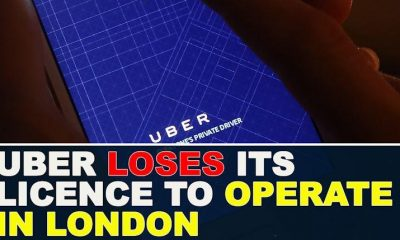 Transport for London cancel Uber license