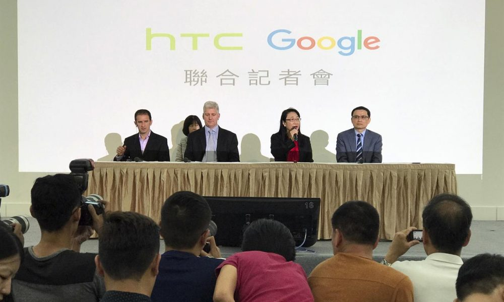 Google to buy part of HTC's smartphone operations for around US$1b