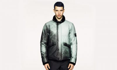 Stone Island introduces thermo-sensitivie sweater