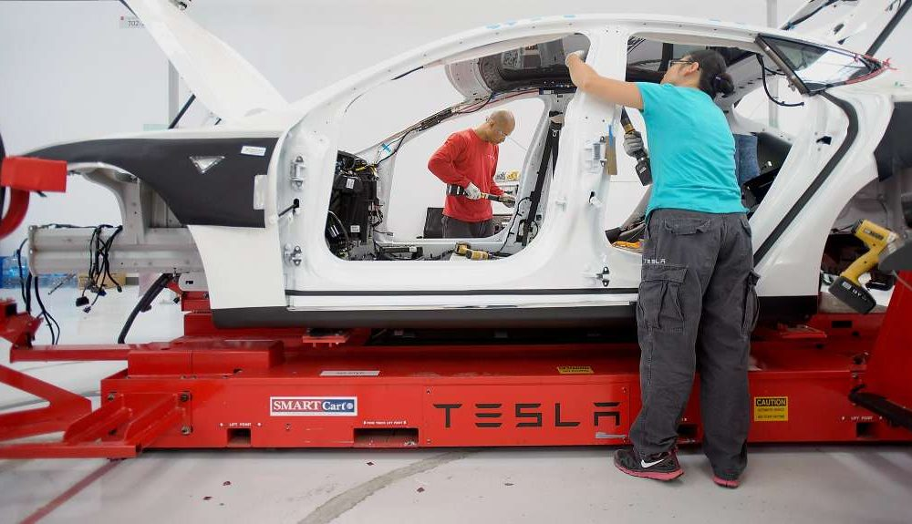 Tesla sacked several hundred workers this week