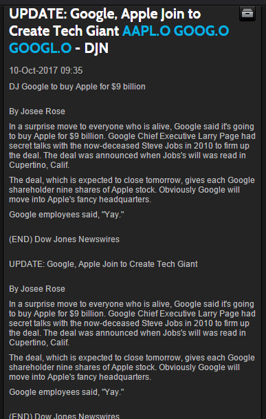 google buys apple