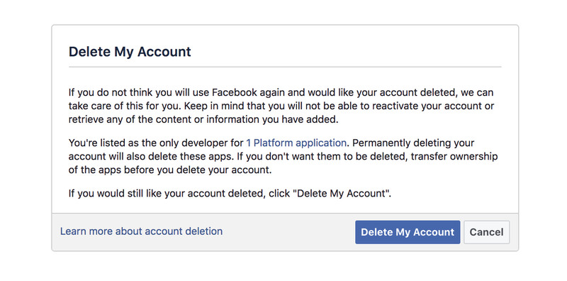 how to delete post on facebook page