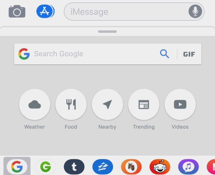 Now you can use Google Search within iMessage | TheTechNews