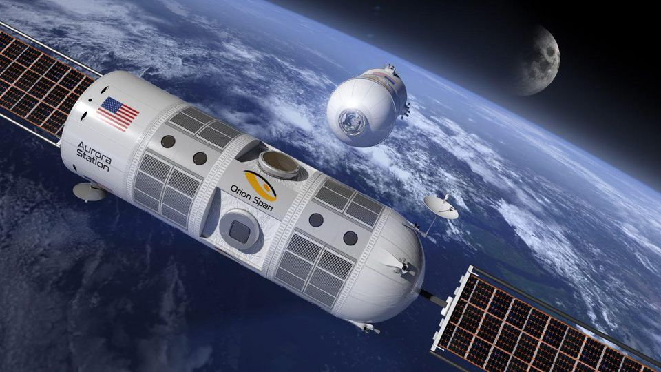 'Luxury space hotel' to launch in 2021