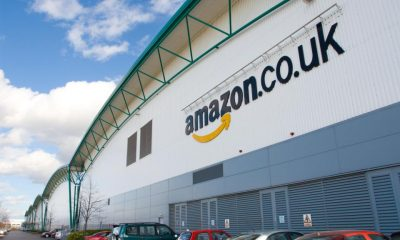 amazon warehouse in the uk
