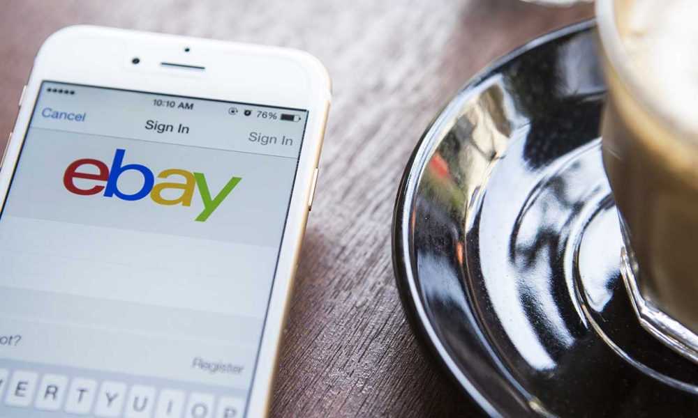 eBay now allows sellers to scan barcodes for item listings