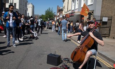 contactless payment scheme for buskers