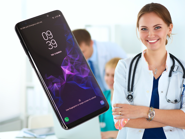Samsung health service in the uk