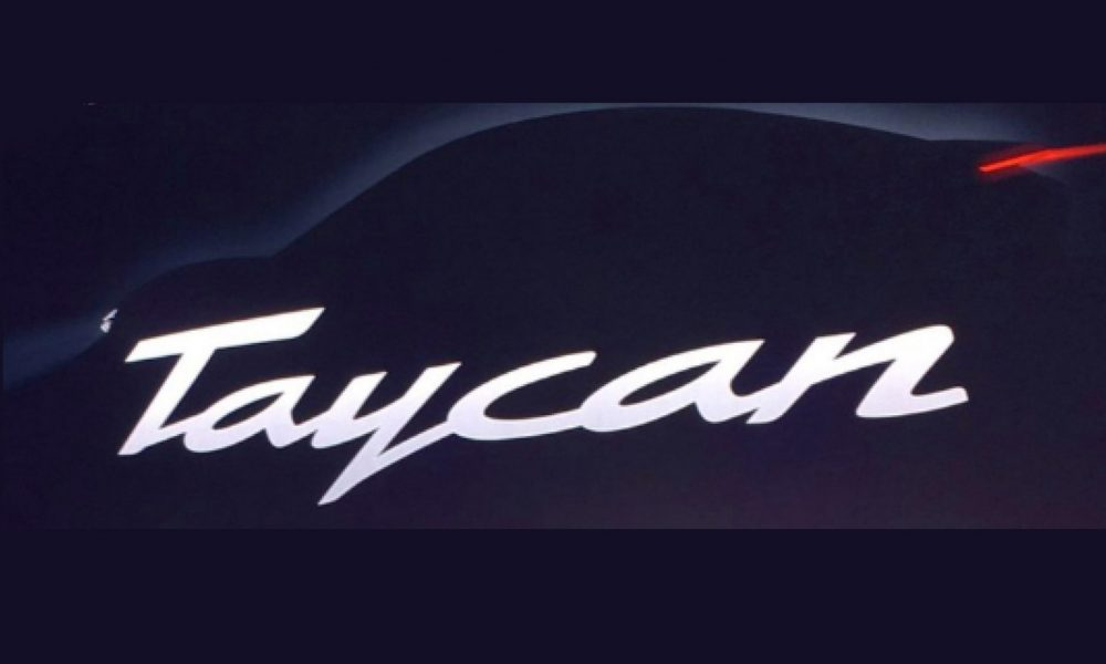 Porsche Taycan is the name for the production Mission E