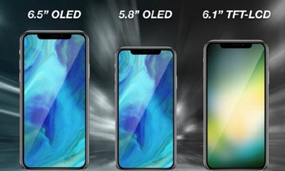LCD panels for 2018 iPhone