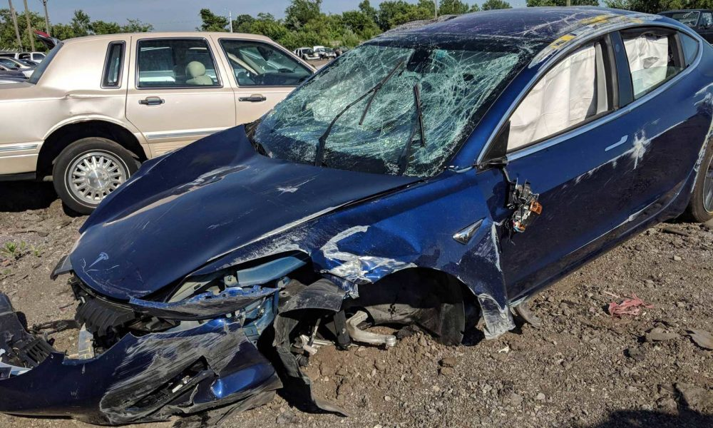 Tesla Model 3 rollover crash isn't as dangerous as it looks